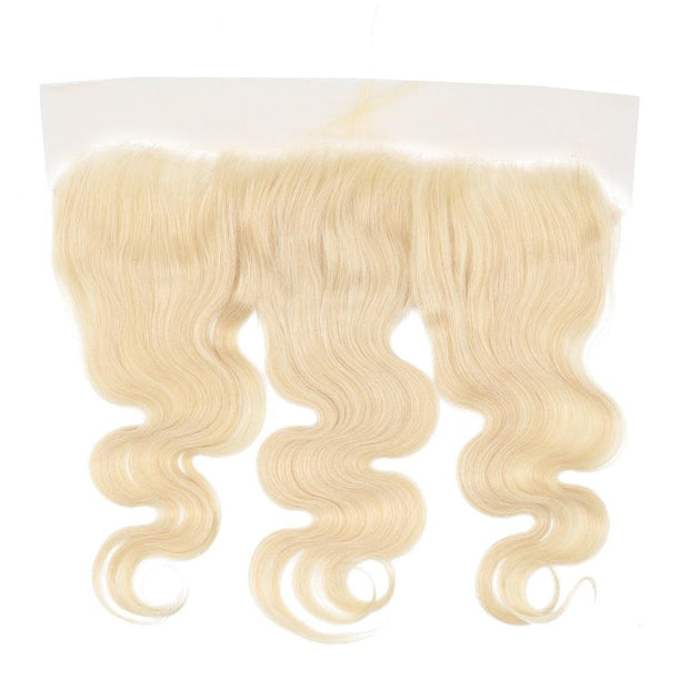 Nusface 613 Blonde Body Wave 3 Bundles with 13x4 Lace Frontal Best Unprossed Hair