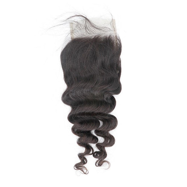 Nusface Brazilian Exotic Wave 3 Bundles with 4x4 Lace Closure Best Unprocessed Hair