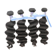 Nusface Brazilian Exotic Wave 4 Bundles with 13x4 Lace Frontal Best Unprossed Hair