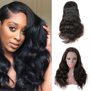 Top Raw 13x6 Body Wave Lace Front Wig 130 Density with Baby Hair