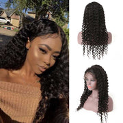 Top Raw Deep Wave Full Lace Wig 150 Density with Baby Hair