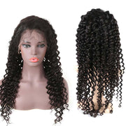 Top Raw 13x6 Deep Wave Lace Front Wig 150 Density with Baby Hair