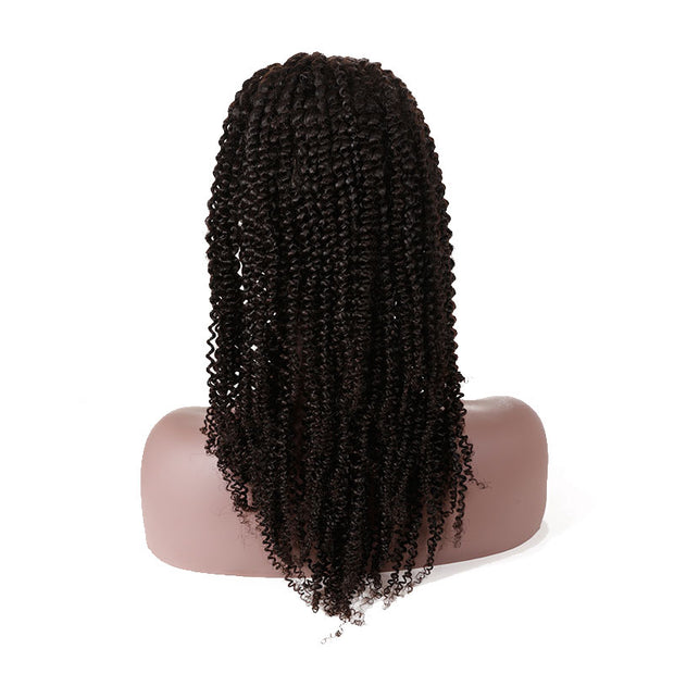 Top Raw 13x4 Kinky Curlyl Lace Front Wig 150 Density with Baby Hair