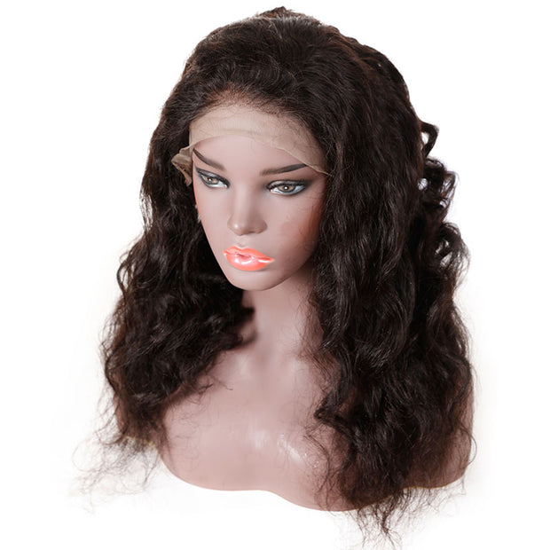 Top Raw 13x4 Loose Wave Lace Front Wig 130 Density with Baby Hair