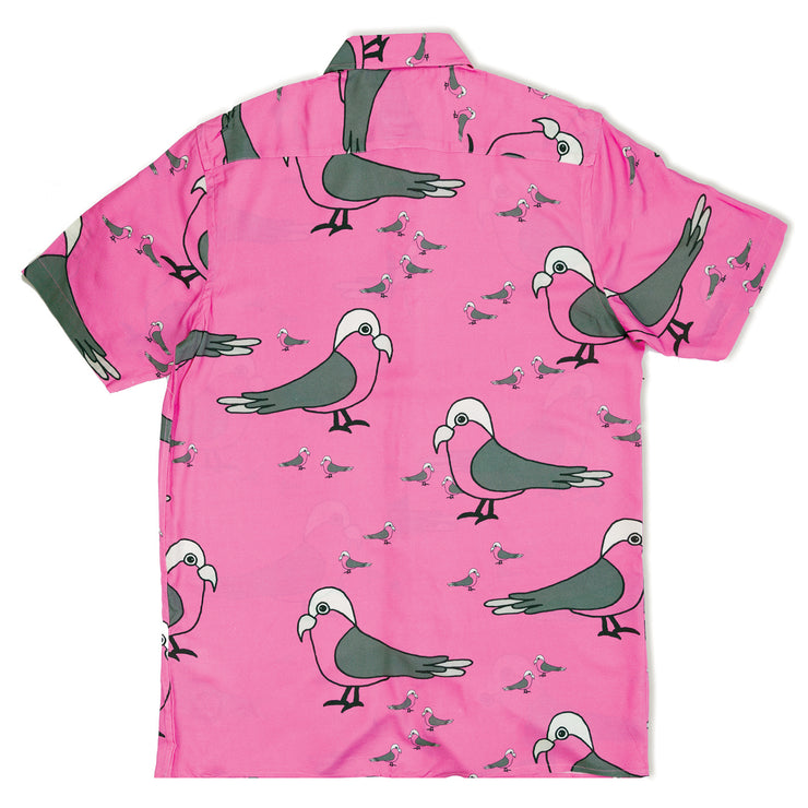 Galah Button-Up Shirt (Pink)