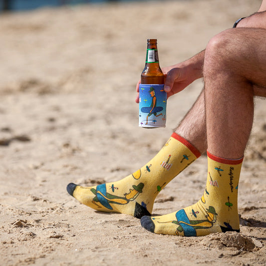 Surfer Dude Socks - Cotton