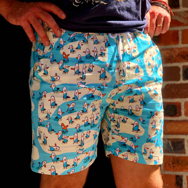 The Burnt Seagull Shorts