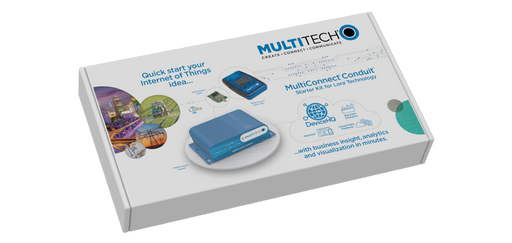 Multitech MultiConnect® Conduit IoT Starter Kit for LoRa® Technology