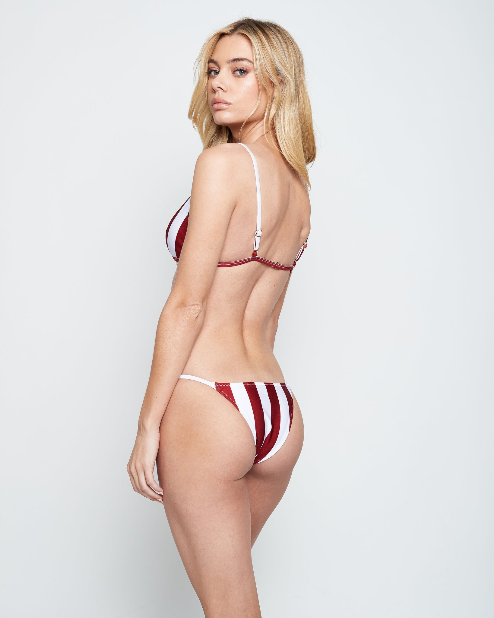 BELLA BOTTOM (RED STRIPE)