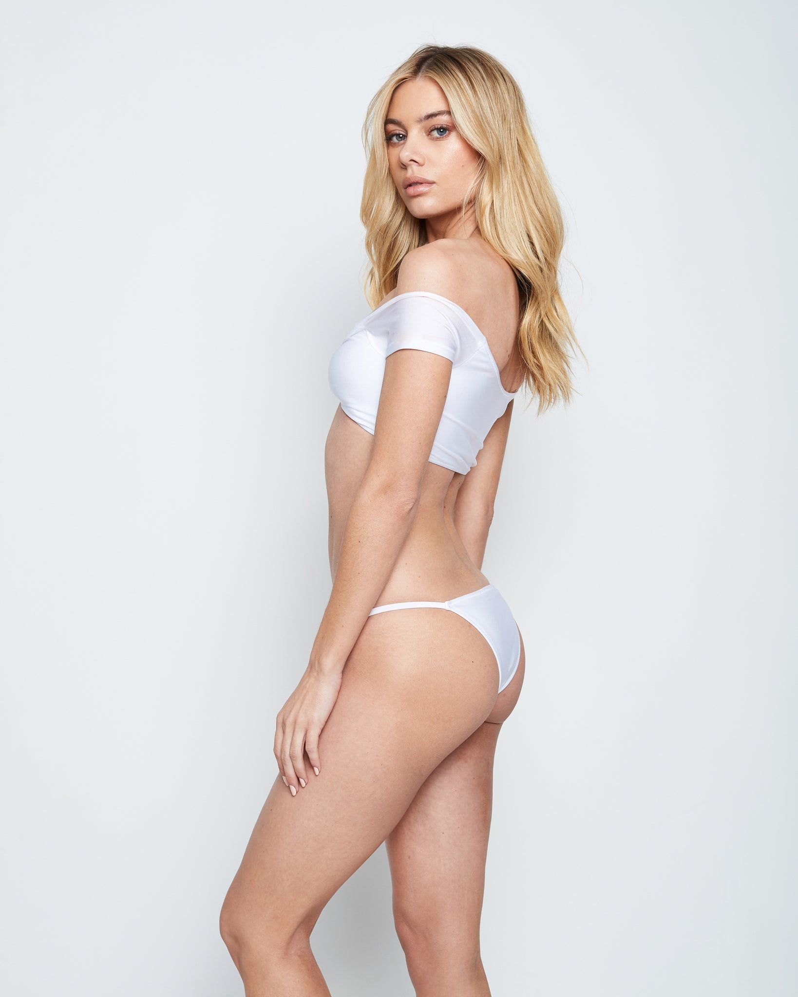 SAI SWIM TOP (WHITE)