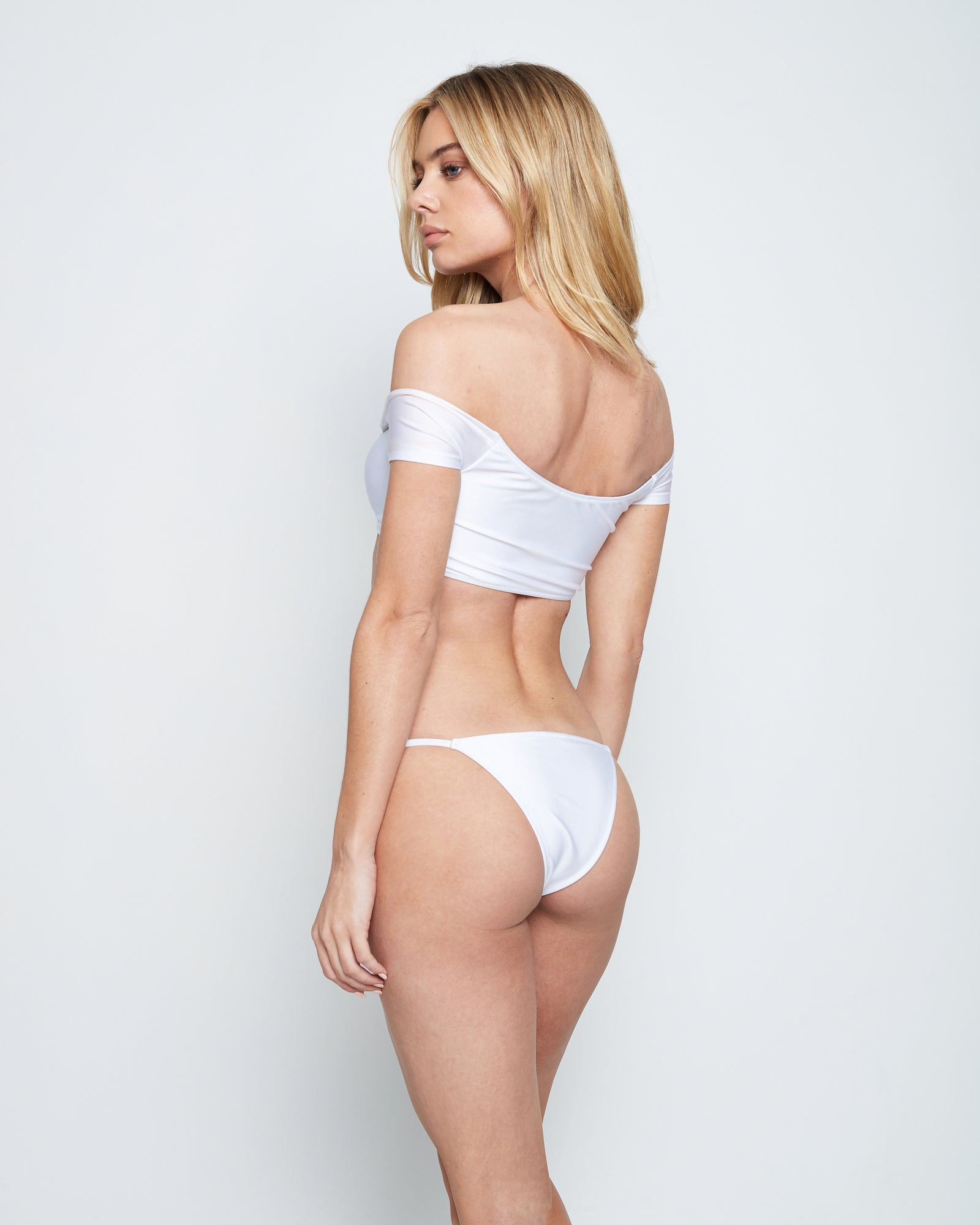 SAI SWIM BOTTOM (WHITE)