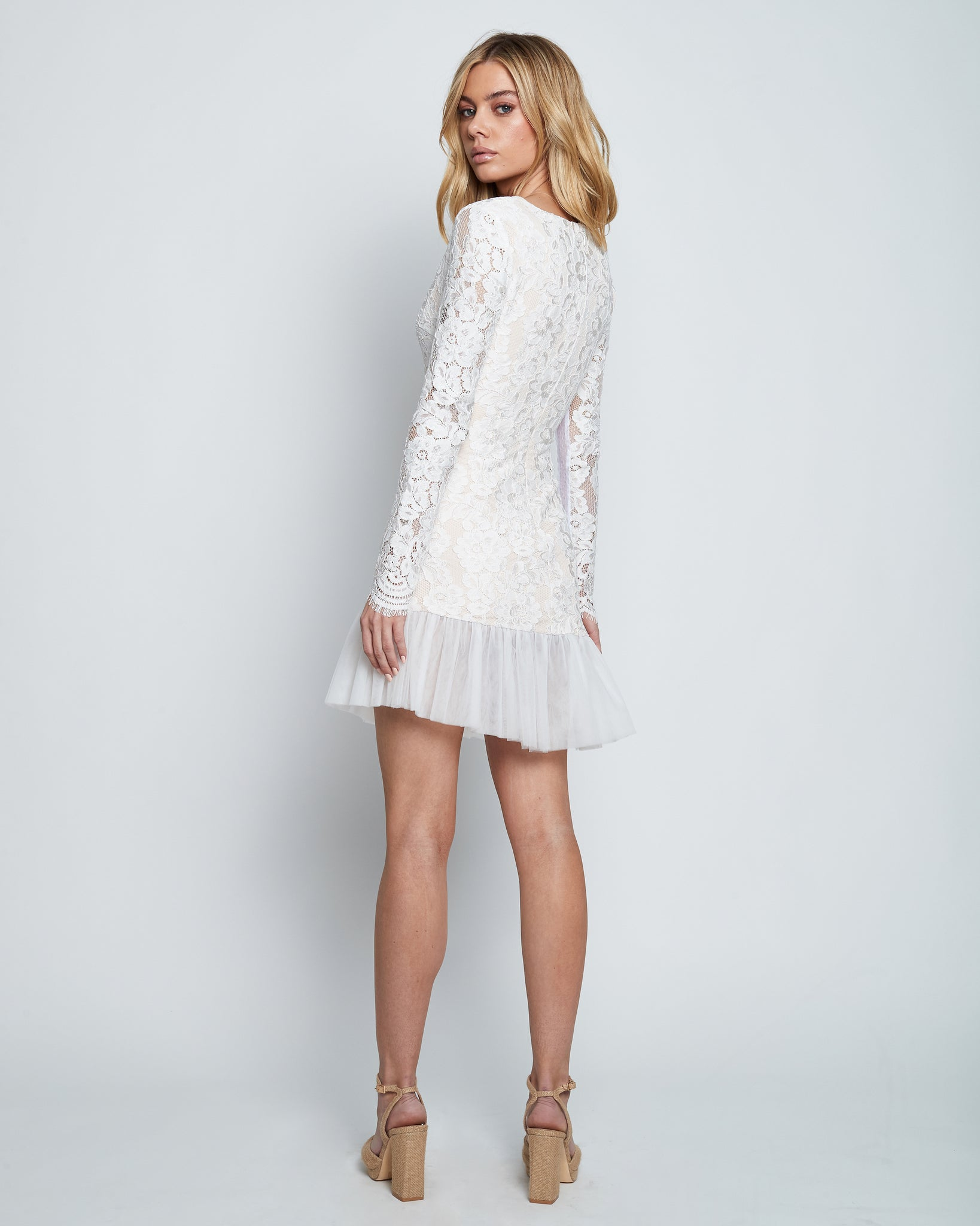 VELA LACE TULLE DRESS