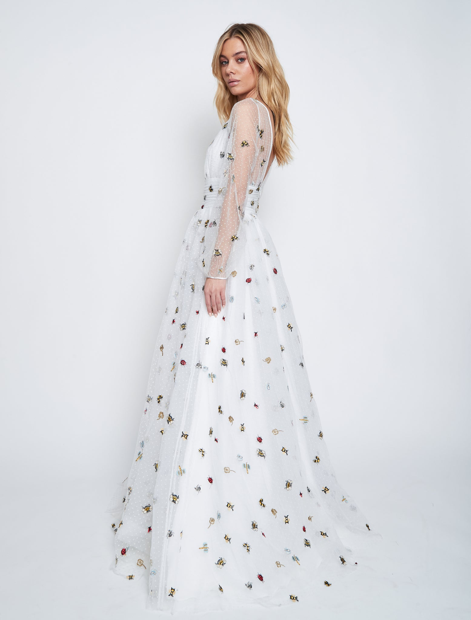 CETUS TULLE GOWN