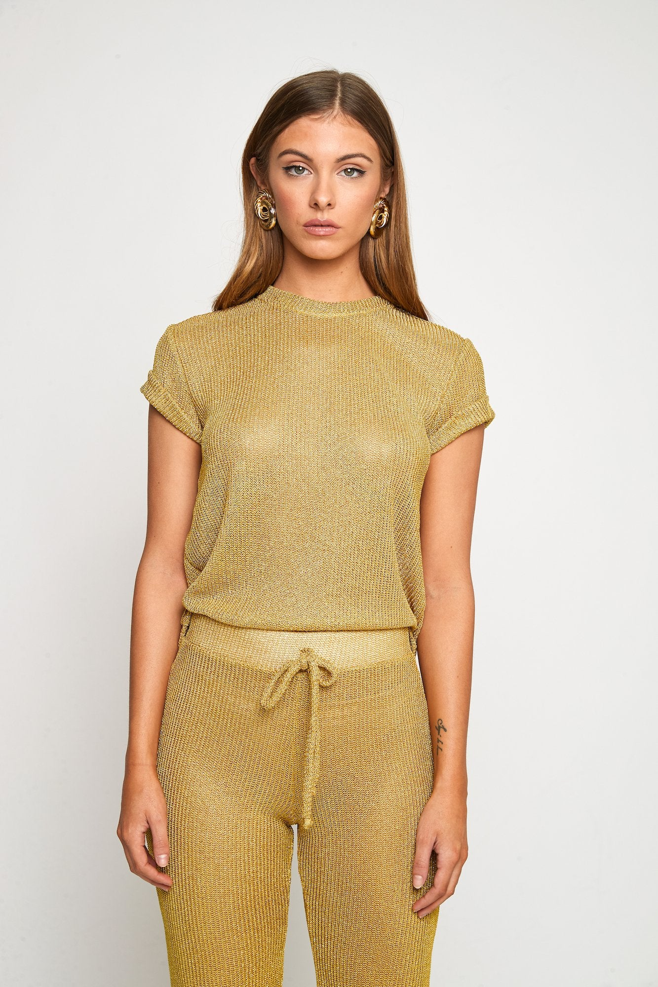DOLCE T SHIRT (GOLD)