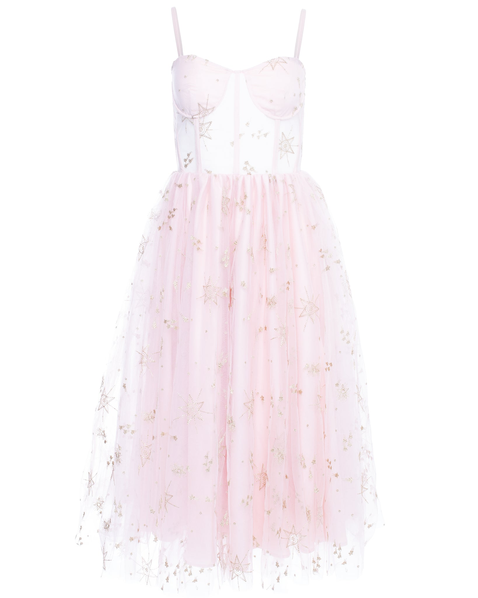 ORION TEA DRESS (BLUSH)