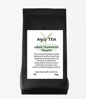 Agro Tea - Whole Chamomile Flower - AGRO BEANS