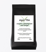Agro Tea - Lemongrass & Ginger Organic Tea - AGRO BEANS