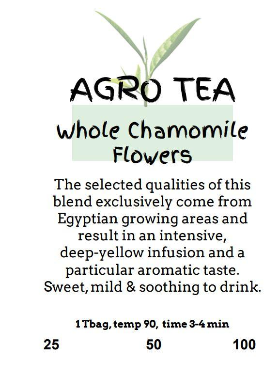 Agro Tea - Whole Chamomile Flower