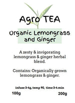 Agro Tea - Lemongrass & Ginger Organic Tea