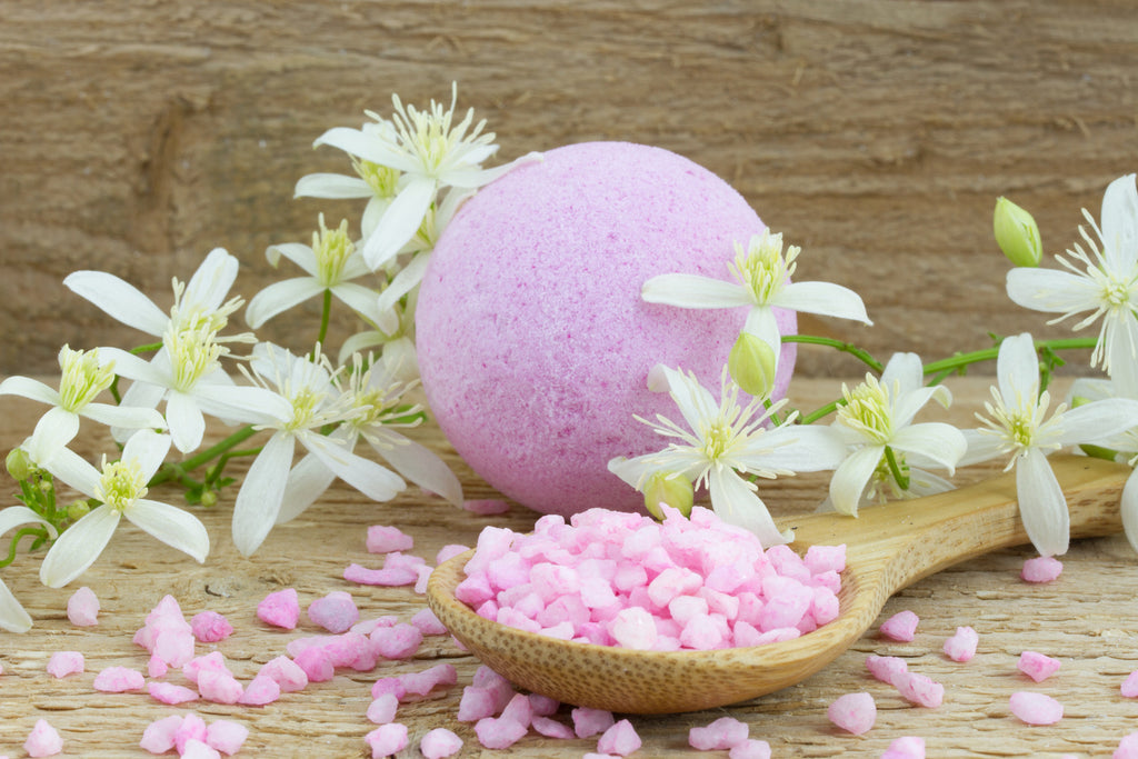 Organic Bath Bombs & Salts