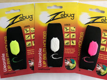 Load image into Gallery viewer, Zebug Wearable Lip Balm Holder