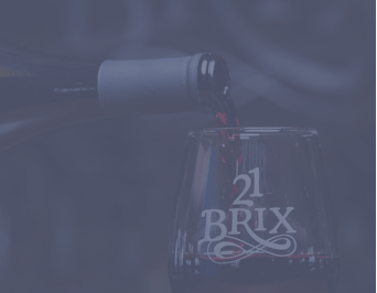 Pouring Wine into 21 Brix Glass