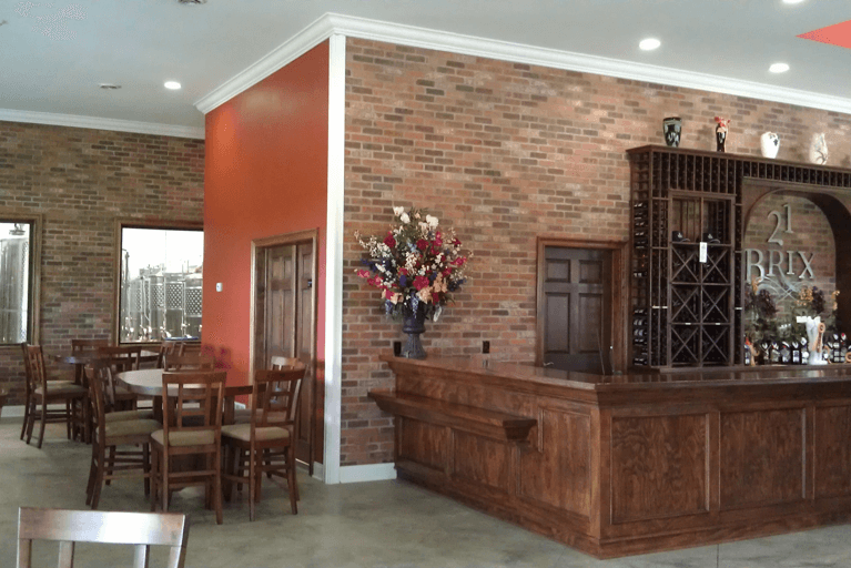 21 Brix Winery Tasting Room