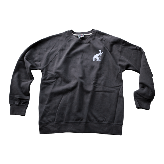 Crewneck Sweatshirt - Charcoal--SOLD OUT!