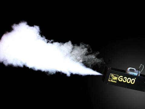 G300 fog machine in action