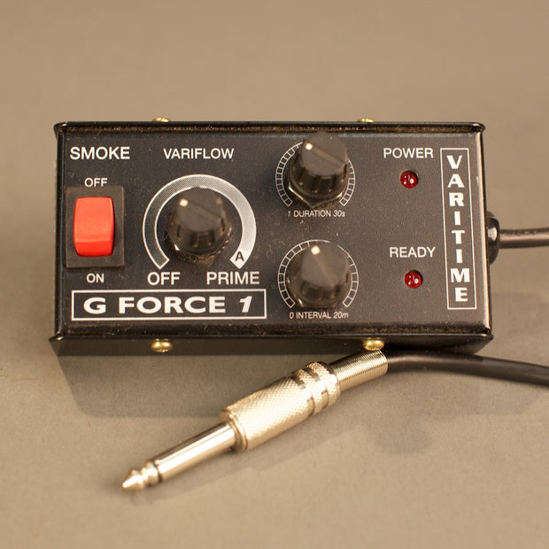 G Force 1 fog machine remote.