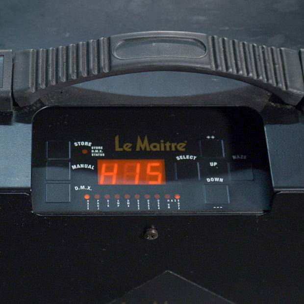 Le Maitre MVS Haze Machine Controls