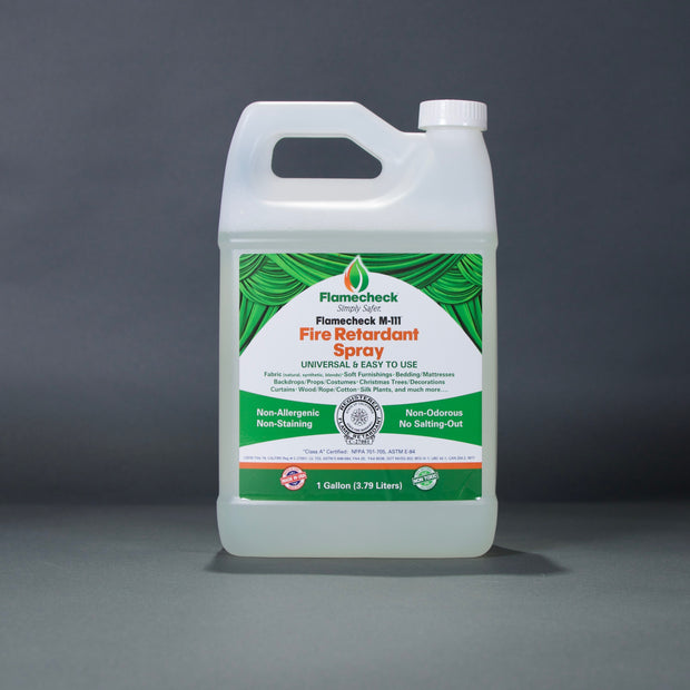 Flamecheck M-111 Fire Retardant Spray - 1 gallon
