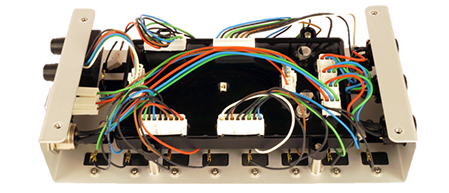 Pyrodigital FM-A module - internal top view
