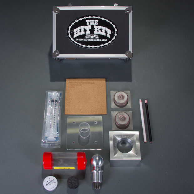 The Hit Kit contents and case