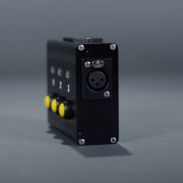 Pyrodigital XLR Cable Tester side view