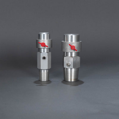 "Adjustable rain heads - 1"" and 1 1/2"""