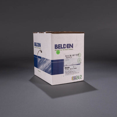 Belden 24/2 brown zip cord