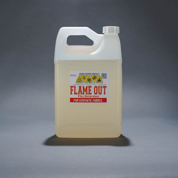 FlameOut 5111 liquid fire retardant for fabric