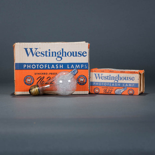 #5 flashbulbs by Westinghouse