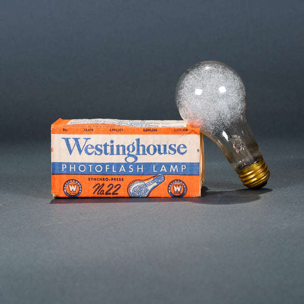 #5 photoflash flashbulb by Westinghouse