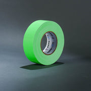 "Fluorescent green 2"" gaffer's tape"