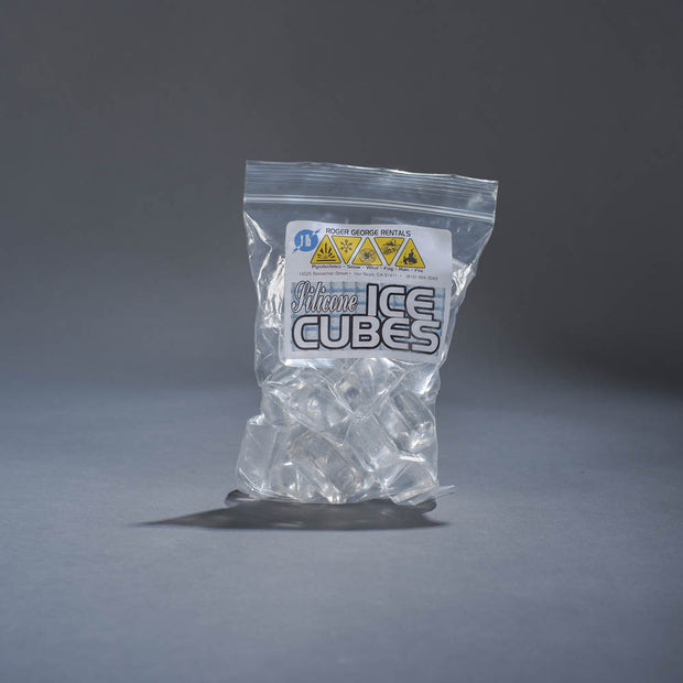 Rubber ice cubes - 1 lb