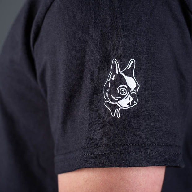 Special Effects T-Shirt Sleeve with Boston Terrier