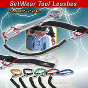 Setear tool leash for use on a belt.