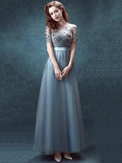 Veil Backless Split-side Elegant Wedding  Dresses
