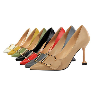 More Colors Solid Color Wedding Shoes Woman Pumps