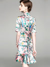 Ethnic Mermaid Improved Cheongsam Bodycon Casual Dresses