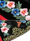 Stand Collar Embroidery Vintage Skater Dress