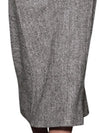 Elegant Woolen Pattern Solid Bodycon Maxi Dress