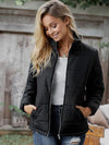 Fashion Street Solid Color Long Sleeve Jacket Coat